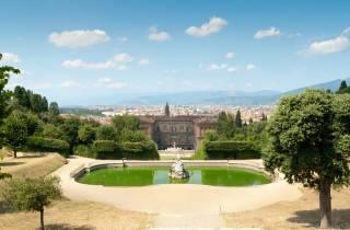 Florenz: reserviertes Ticket für den Boboli-Garten