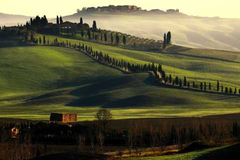 Rome Hotel or Airport Transfer to Tuscany