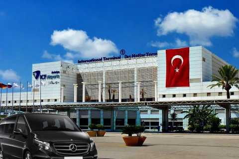 Mahmutlar Prive transfer naar de luchthaven van Antalya