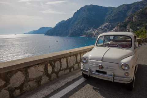 Amalfi Coast by Vintage Fiat 500 or 600 from Sorrento
