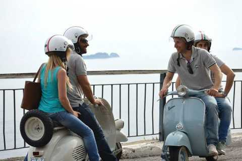 Panoramic Naples Private Tour by Vintage Vespa