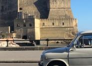 Neapel Lebensmittel Tasting Tour von Vintage Fiat 500 / Fiat 600