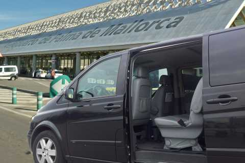 Hotels Mallorca naar de luchthaven van Palma Private Transfer