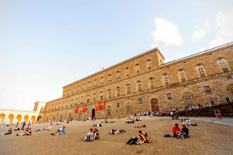 Florenz: Ticket für den Palazzo Pitti