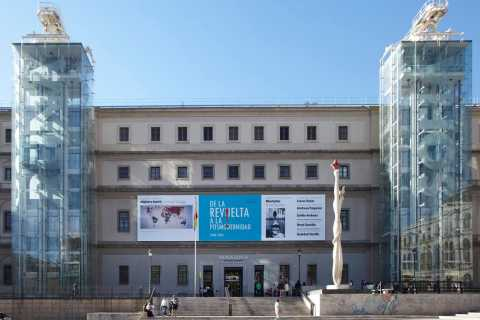 Madrid: Sightseeing Tour and Reina Sofia Museum Visit