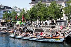 Excursão Canais de Copenhague e Ingresso Sem Fila Tivoli
