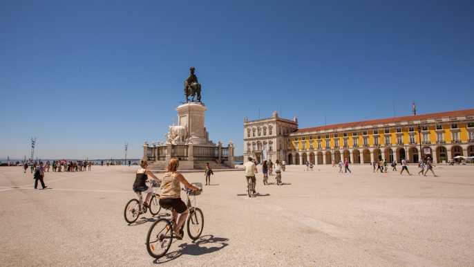 Tour Lisboa en Bici: centro de Lisboa a Belém