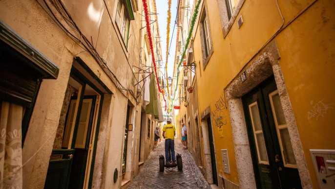 Lisboa: tour en Segway por el barrio de Alfama
