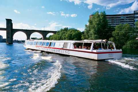 Stockholm: 2-timmars båttur under broarna