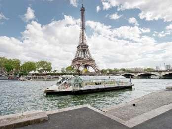 Paris: Hop-On/Hop-Off-Sightseeing-Bootsfahrt auf der Seine