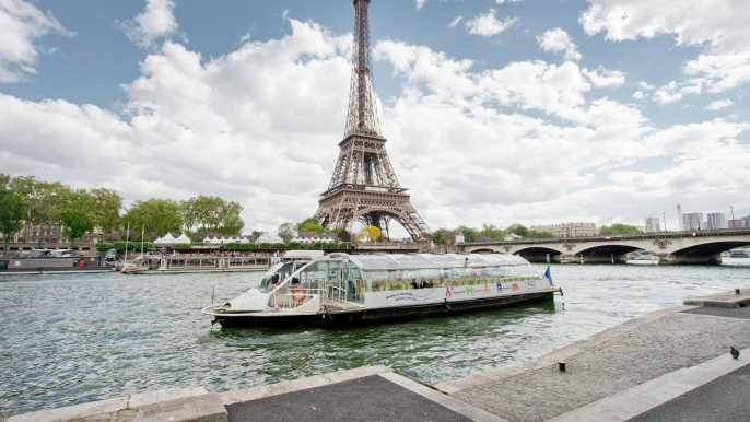 Paris: Seine River Hop-On Hop-Off Sightseeing Cruise