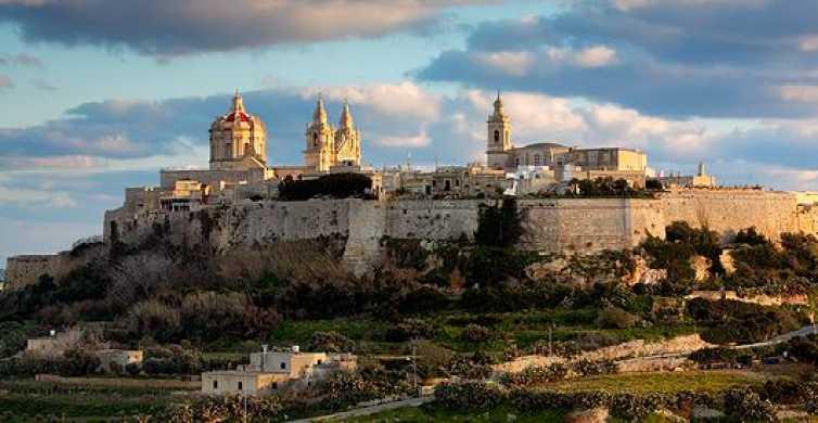 Malta: Heldagstur till Mosta, hantverksby, Mdina & Valletta