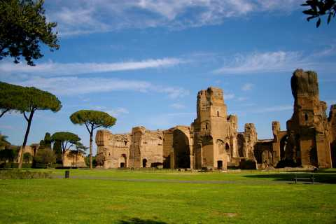Rome: Baths of Caracalla Private Tour