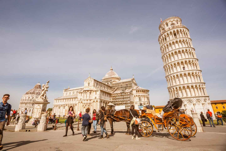Ab Florenz: Tagestour nach Pisa und Schiefer Turm