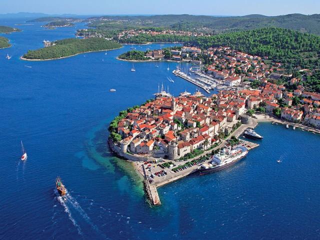 Vanuit Dubrovnik: Korčula ontdekken met bezoek wijnboerderij