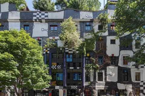 Vienna: Museum Hundertwasser in KunstHausWien Tickets