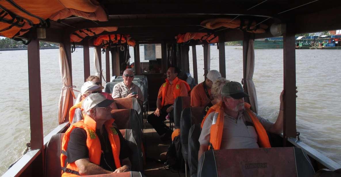 Delta del Mekong en grupo reducido, pagoda Vinh Trang y remo