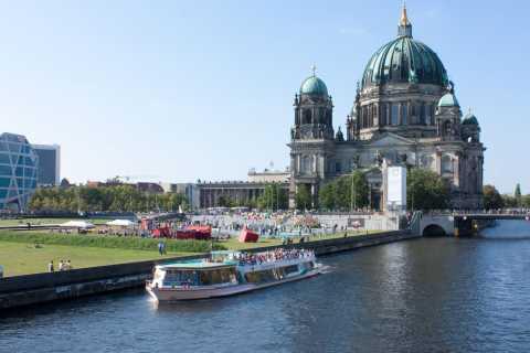 柏林:施普雷河上的1小时咖啡和蛋糕巡游