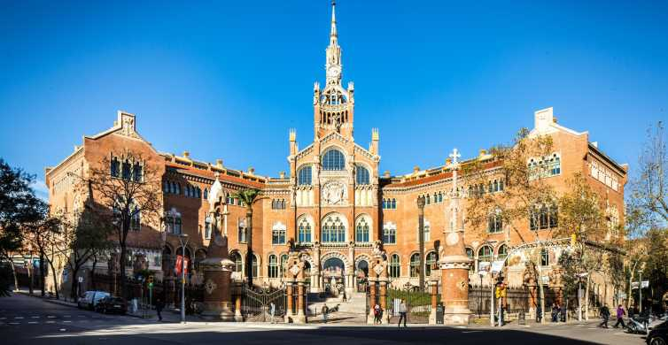 Barcelona: Billett til Sant Pau Recinte Modernista