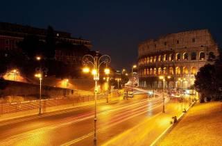 Rom Nachttour mit dem Segway