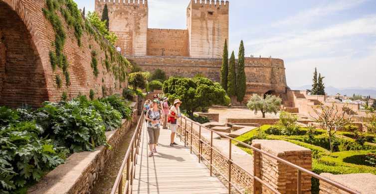 Granada: Tagestour mit Alhambra und Generalife-Gärten