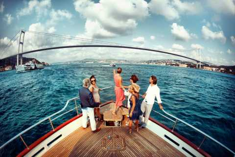 Istanbul: Half–Day Cruise, Coach & Cable Car Tour