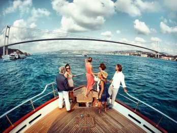 Istanbul: Halbtägige Boots-, Bus- und Seilbahn-Tour