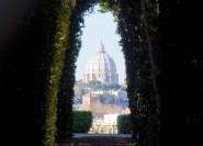 Rom: Privater Flughafentransfer mit Stadtrundfahrt