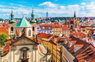 Prag: Stadtführung mit Straßenbahnticket