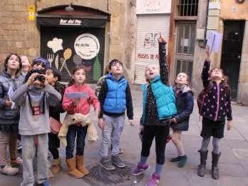 Barcelona: Drachensuche im Barrio Gótico für Familien. Foto: GetYourGuide