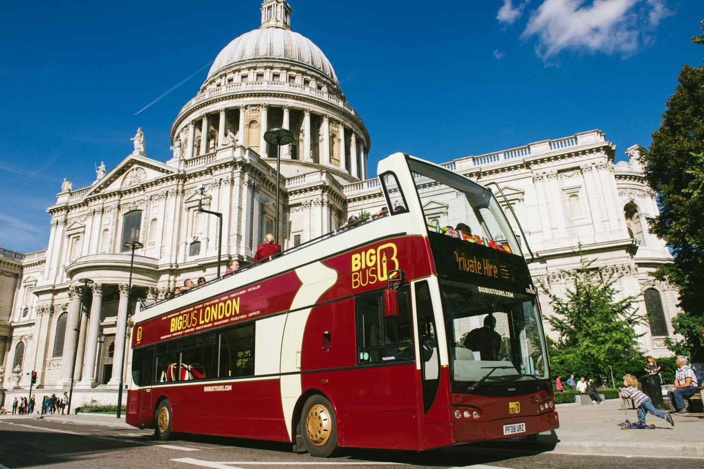 London: Big-Bus Open-Top Hop-On/Hop-Off Sightseeing-Tour