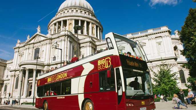 Londres: tour panorámico en autobús turístico Big Bus
