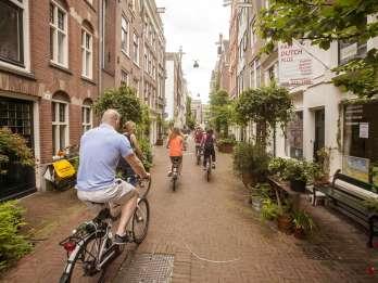 Amsterdams versteckte Idyllen: 3-stündige Fahrradtour