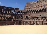 Untergrund des Kolosseums und Antikes Rom: Kleingruppen-Tour