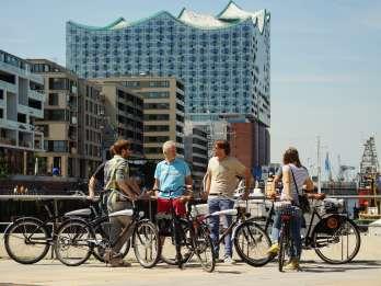 Hamburg kompakt: Fahrradtour durch die Hansestadt