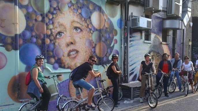 Londres: Street Art Bike Tour
