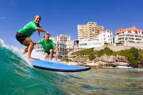 Bondi Beach: 2-Hour Surf Lesson Experience for Any Level
