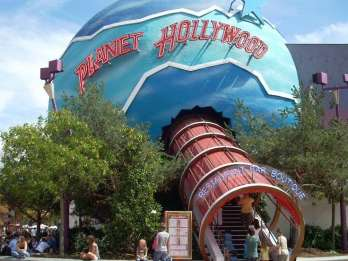 Planet Hollywood Disneyland: Voucher im Wert von 35 EUR