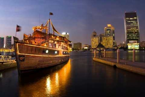 Dubai: Deira Creek 5-Star Buffet Dinner Dhow Cruise