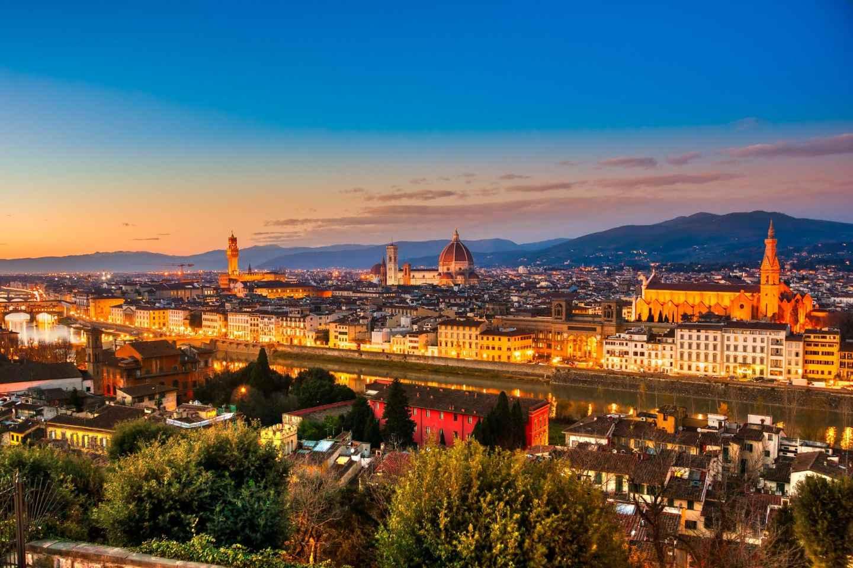 Florenz: E-Bike-Tour am Abend mit Eis-Verkostung