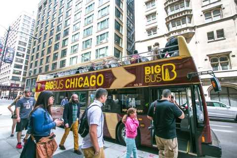 Chicago: tour en autobús descubierto de paradas ilimitadas