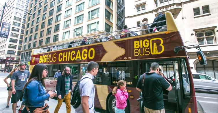 Chicago: Hop-on Hop-off Open Top Bus Tour