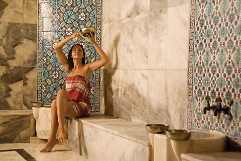Antalya: Traditional Turkish Bath with Massages