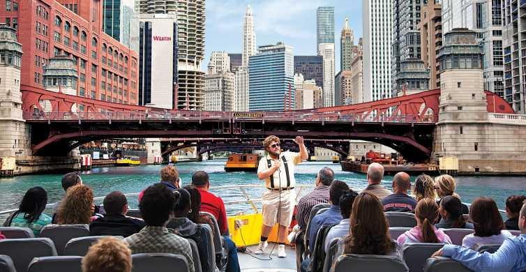 Chicago: Cruzeiro Arquitetônico de Lancha de 75 Min