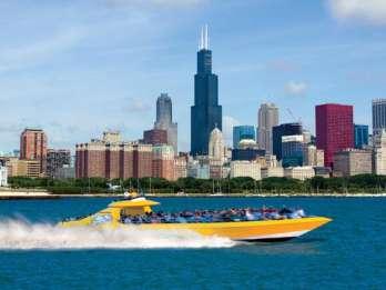 Chicago Lakefront: 30-minütige Seadog Speedboot-Tour. Foto: GetYourGuide