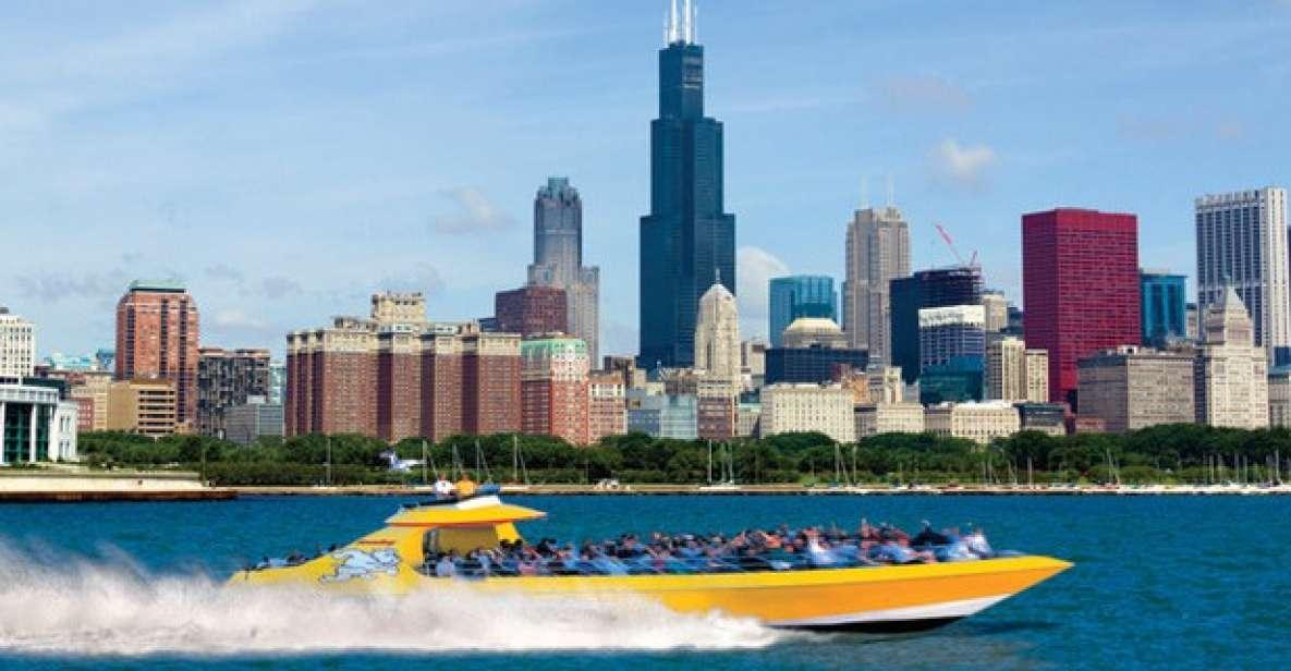 Chicago Lakefront: Seadog-speedbådtur langs kysten