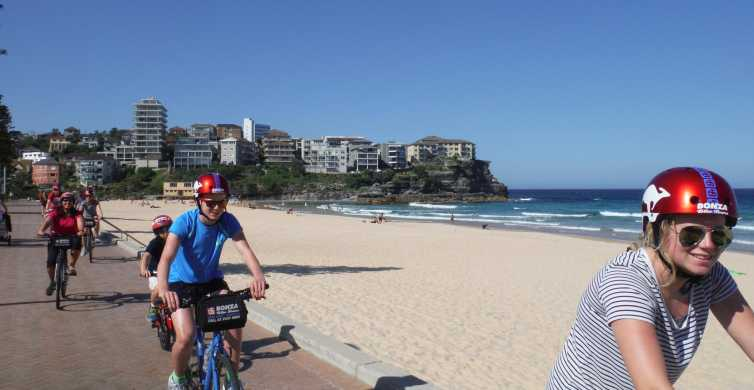 Breathtaking Manly Beach Bicycle and Sunset Cruise Tour