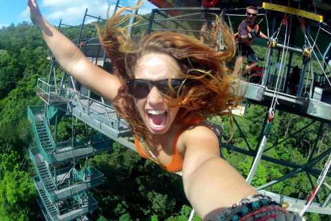 Cairns: Rainforest Bungy Jump with Transfers