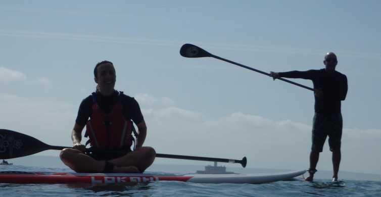 Oeiras Coast: Stand Up Paddleboarding near Lisbon