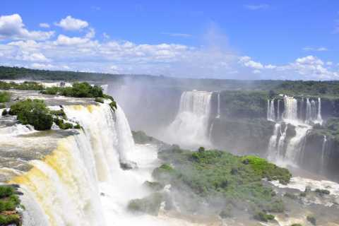From Foz do Iguaçu: Brazilian Falls Panoramic Tour